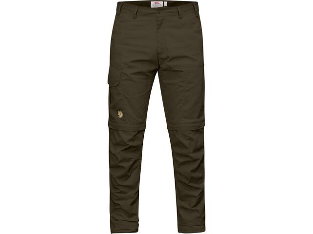 Fjällräven Karl Pro Pantalones Zip-Off Hombre, dark olive